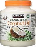 Kirkland Signature organic coconut oil 84 oz (2.62 QT)