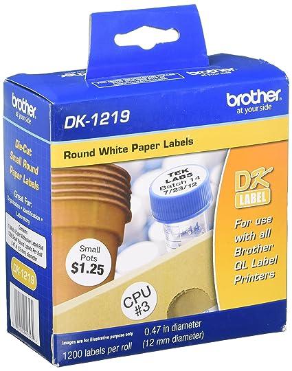 Brother DK1219 DK cinta para impresora de etiquetas - Cintas para ...