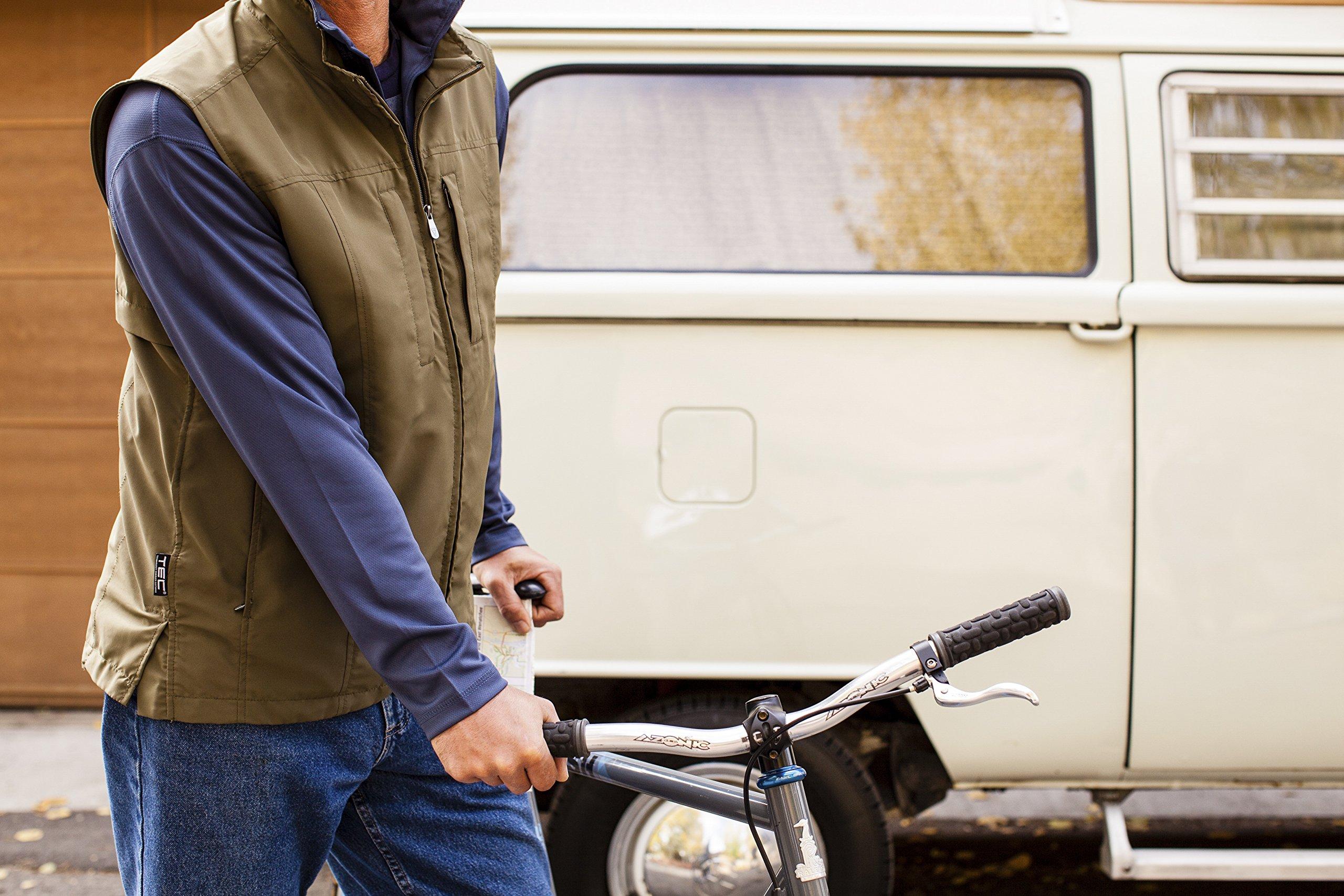 SCOTTeVEST Men's RFID Travel Vest - 26 Pockets – Travel Clothing Blk XXXL by SCOTTeVEST (Image #3)
