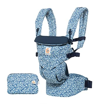 cbea9590a45 Amazon.com   Ergobaby Omni 360 All-in-One Ergonomic Baby Carrier - Batik  Indigo   Baby