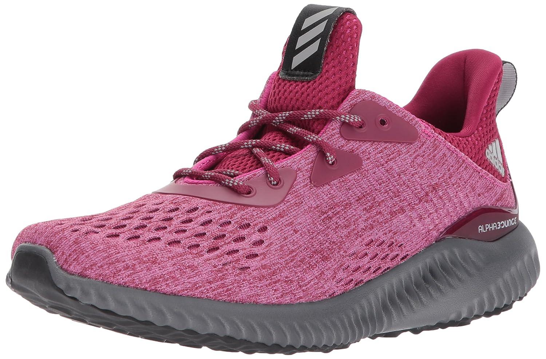 adidas Women's Alphabounce Em W Running Shoe B01MQNG91L 10 B(M) US|Mystery Ruby/Bahia Magenta/Grey Five