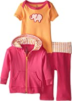 Yoga Sprout Baby and Toddler 3 Piece Jacket, Top and Pant Set