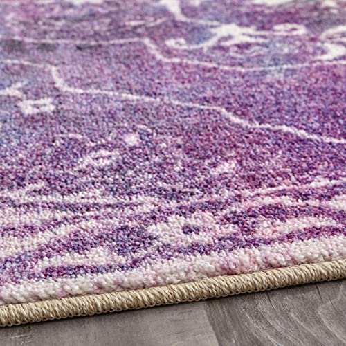 Mohawk Home Rowland Purple Area Rug, 8 x10 ,