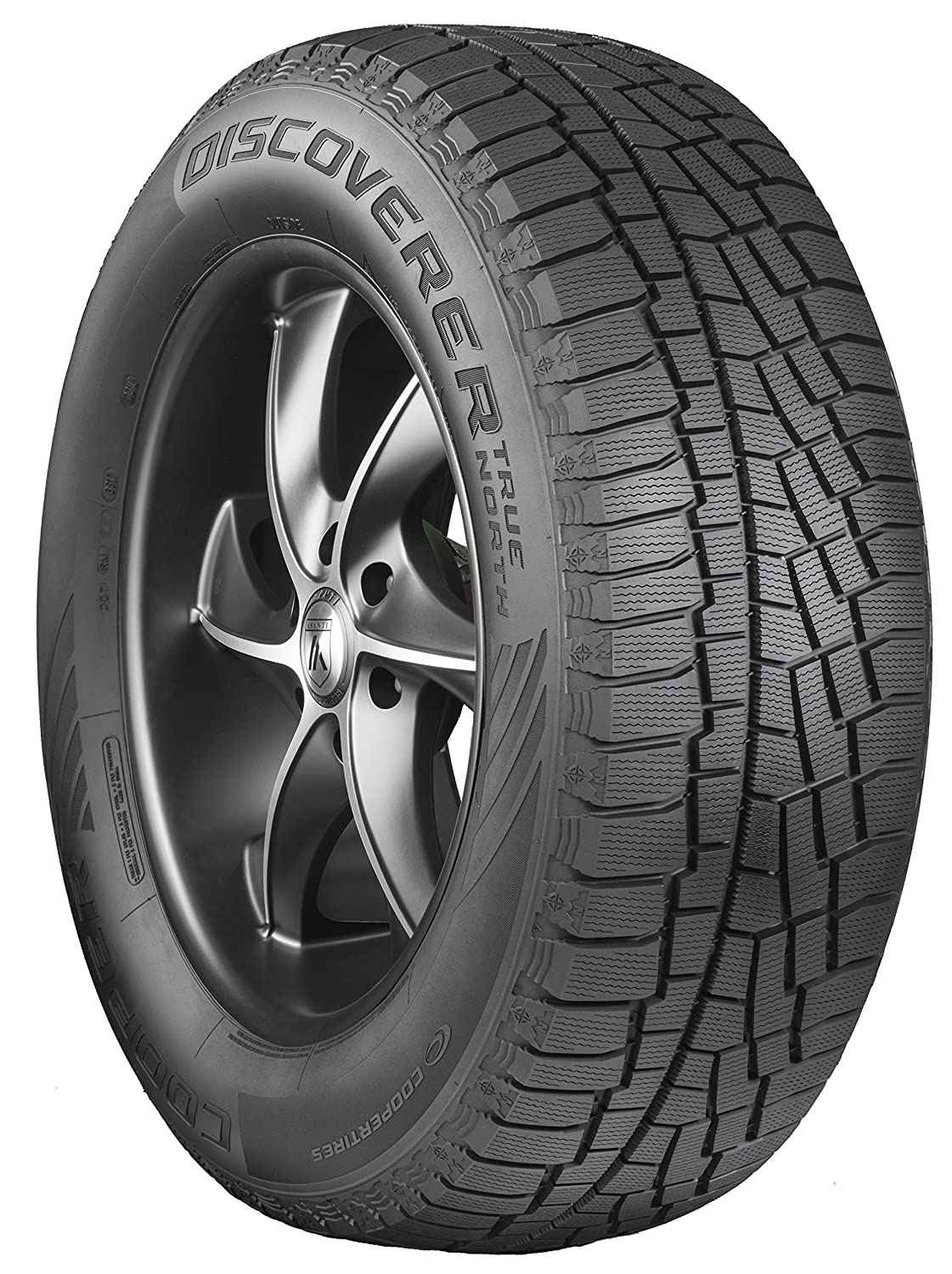 Cooper Discoverer True North Studless-Winter Radial Tire - 225/65R17 102T 90000029748