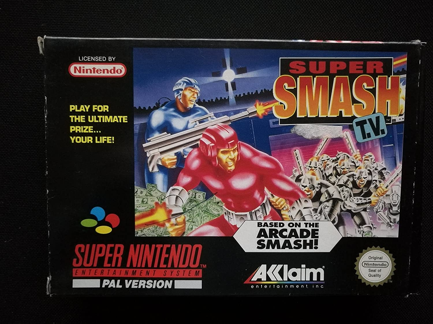Amazon.com: Super Smash TV - Nintendo Super NES: Super ...