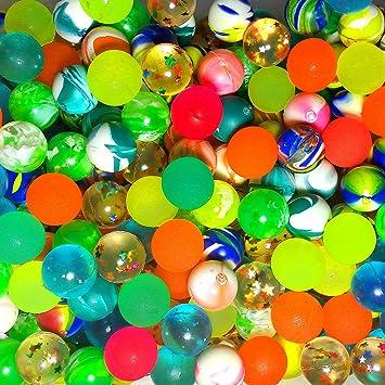 Springball 8x Fussball-Gummiball Geschenk Party Mitgebsel LED Flummi Hüpfball