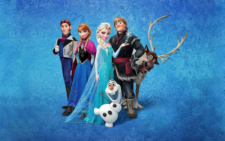 Posterhouzz Movie Frozen Sven Olaf Kristoff Anna Hans Elsa Hd