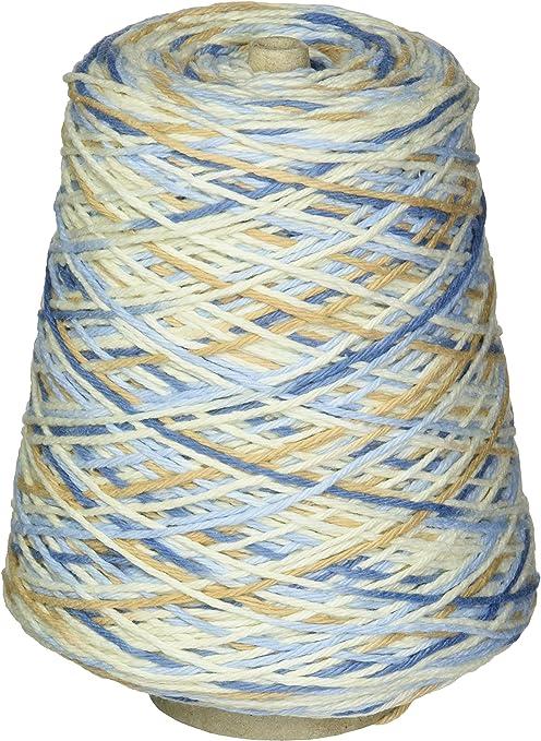Premier Hilos Home algodón Hilo Cono de Multi Color Azul rústico, Papel, Multicolor: Amazon.es: Hogar