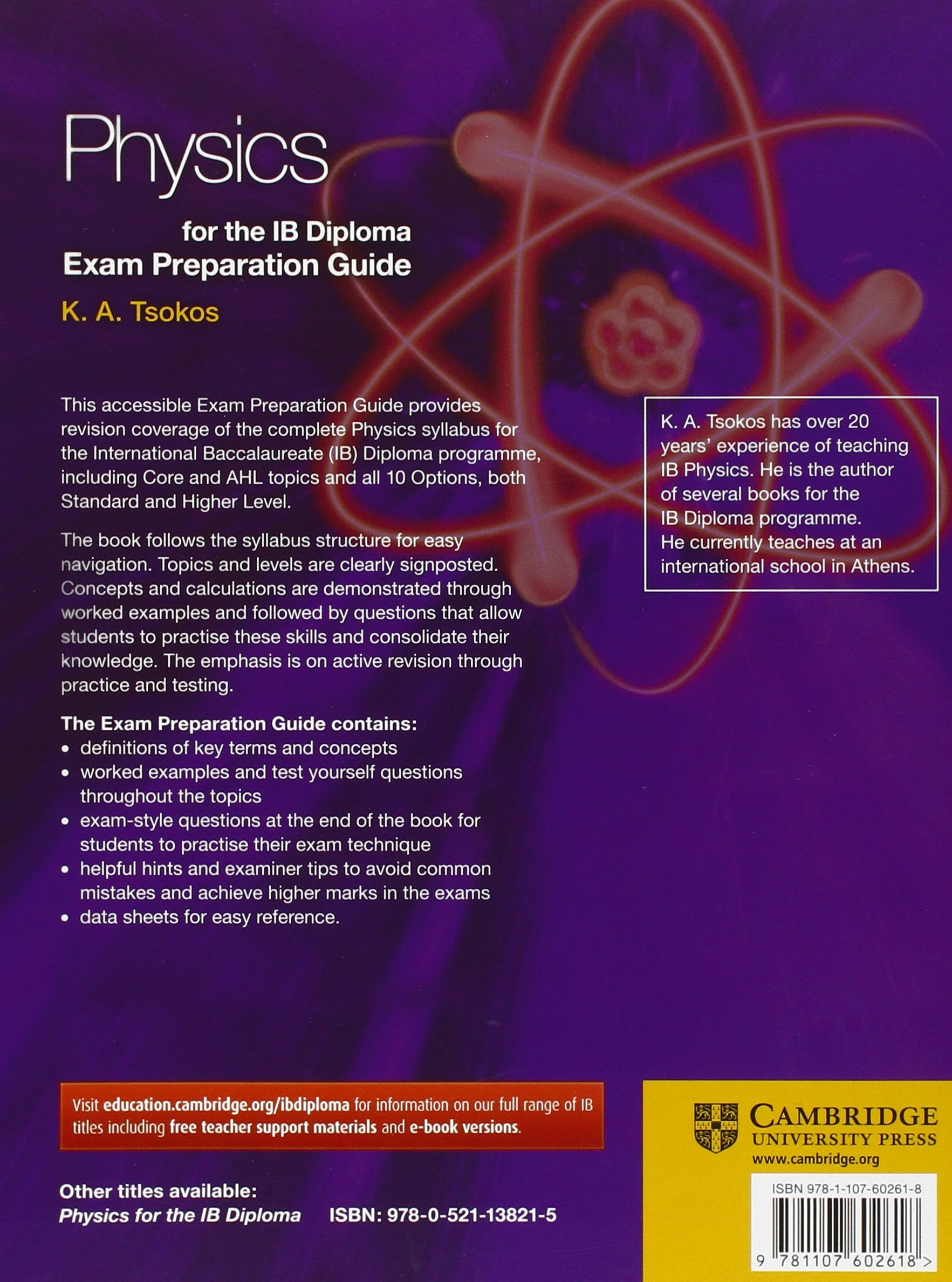 Physics for the ib diploma exam preparation guide (ebook).
