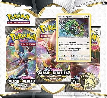 Pokemon Espada y escudo Serie 2 (EB02): Pack de 3 boosters ...