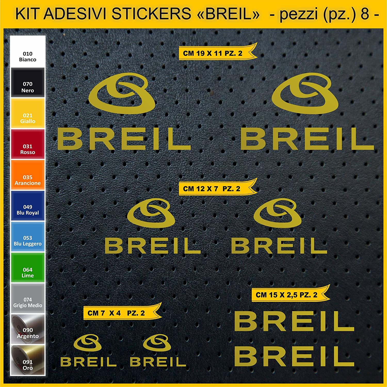 sponsor tecnici moto motorbike Cod.0770 pezzi 08 Adesivi stickers BREIL