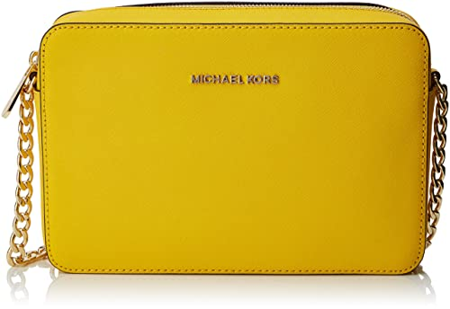 Michael Kors Damen Jet Set Travel Tornistertasche, Gelb