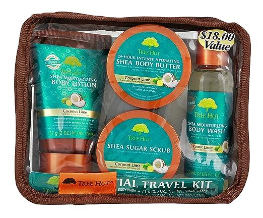 Tree Hut Essential Travel Kit.