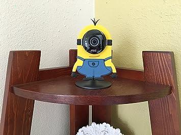 Nest Cam cámara de seguridad diseño de camuflaje funda de piel disfraz protección también encaja en Yi decoración de casa Cam: Amazon.es: Electrónica