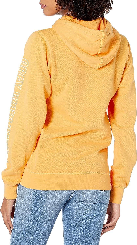 Obey Damen Worldwide Outline Hooded Coaches Jacket Windjacke Dusty Herbstblatt