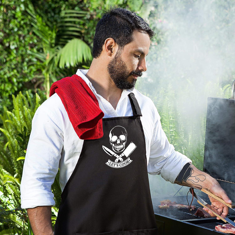 Macho Muscle Man BBQ Kitchen Novelty Apron Free Shipping