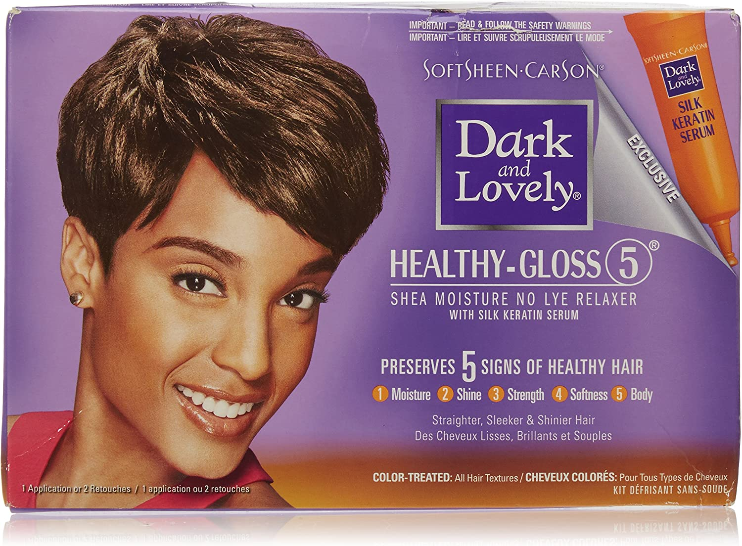 Dark Lovely Relaxer Kit For Color Treated Hair By Dark Lovely