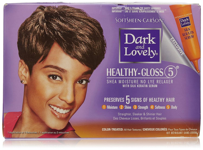 Amazon Dark Lovely Relaxer Kit For Color Treated Hair Cell