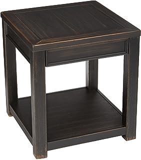 Amazoncom Ashley Furniture Signature Design Gavelston Black - Ashley gavelston coffee table