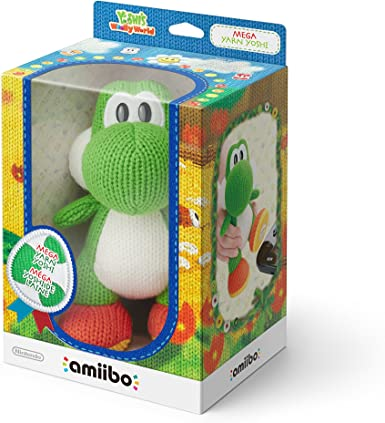 Nintendo - Amiibo Mega Yoshi Lana, Color Verde: Amazon.es