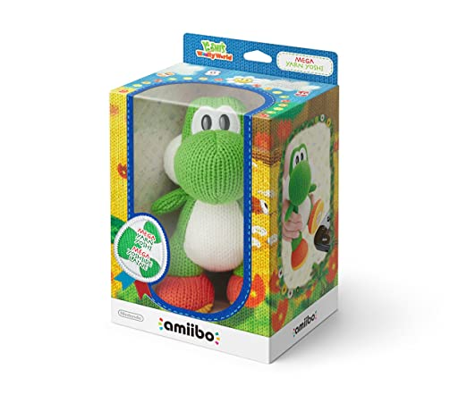246 opinioni per Amiibo Mega Yoshi Di Lana- Yoshi'S Woolly World Collection