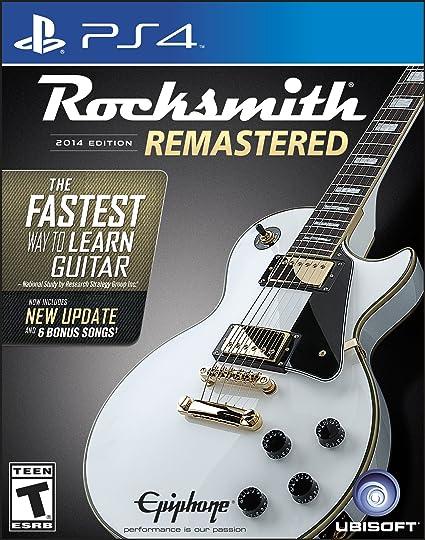 Rocksmith 2014 Edition Remastered - Edición estándar de PlayStation 4: Amazon.es: Videojuegos
