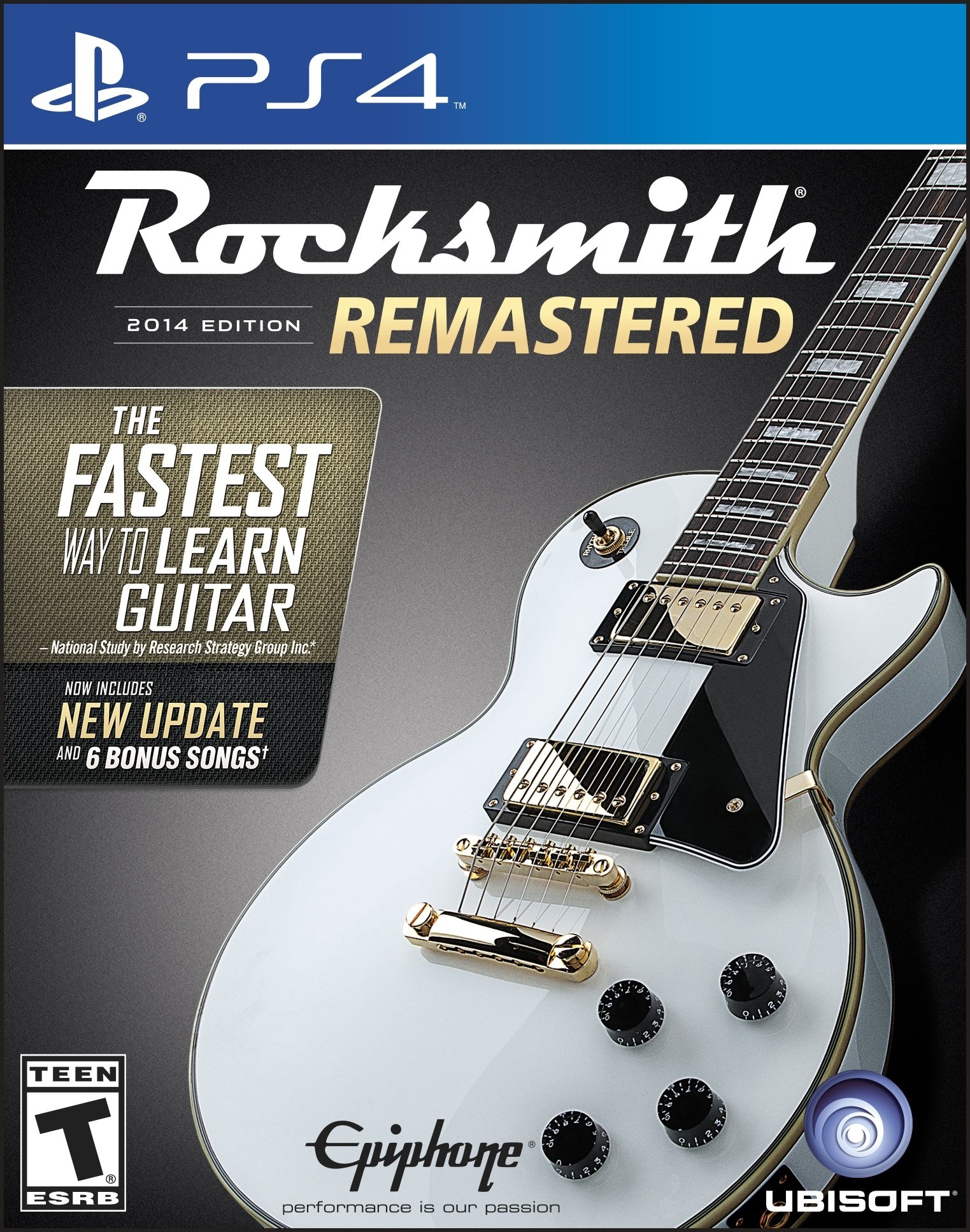 Rocksmith 2014 Edition Remastered - Playstation 4 Sta (srv6)