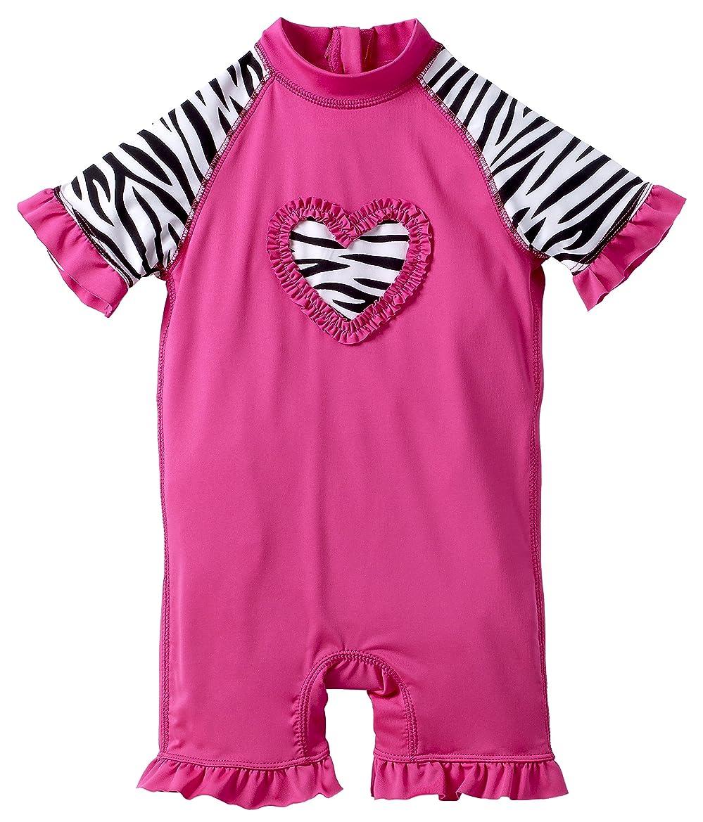 a4002c4e4ff6d Sportoli Girls Boys Baby Short Sleeve Sun Protective One Piece Swim Suit  Swimsuit Sunsuit Rash Guard