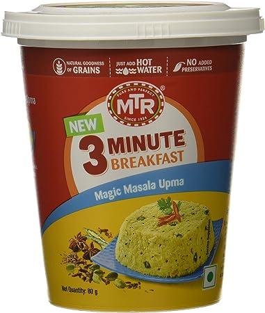 MTR 3 Minute Breakfast Magic Masala Upma Cup, 80g