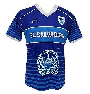 Amazon.com  Arza Sports El Salvador Men s Futbol Soccer Jersey  Clothing de50c4b02