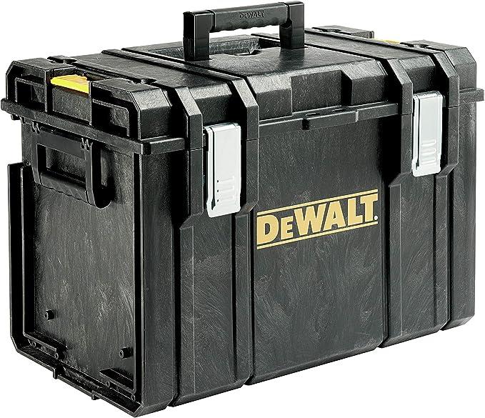 Dewalt Tough DS400 1-70-323, Caja espaciosa y Profunda para Herramientas, Negro: Amazon.es: Bricolaje y herramientas