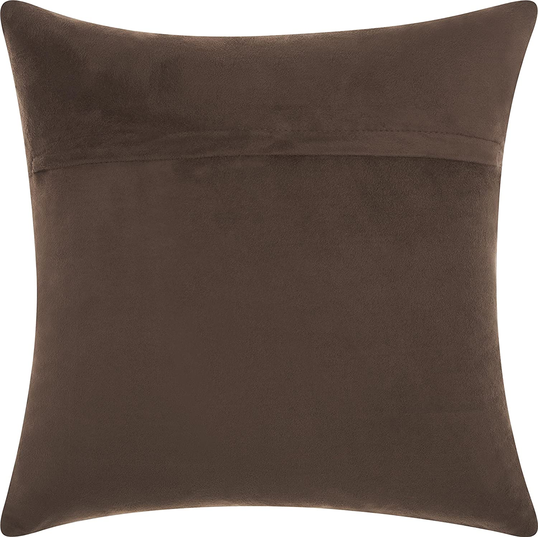 Nourison Mina Victory Mina Victory S1575 Wine Decorative Pillow 20 X 20