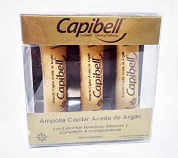 Capibell Ampollas Capilar Aceite De Argan (BOX 3PCS)