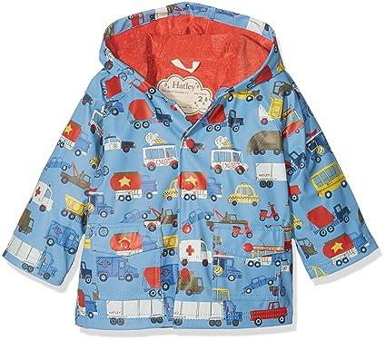d8ebffabdcb9 Amazon.com  Hatley Kids Baby Boy s Rush Hour Classic Raincoat ...