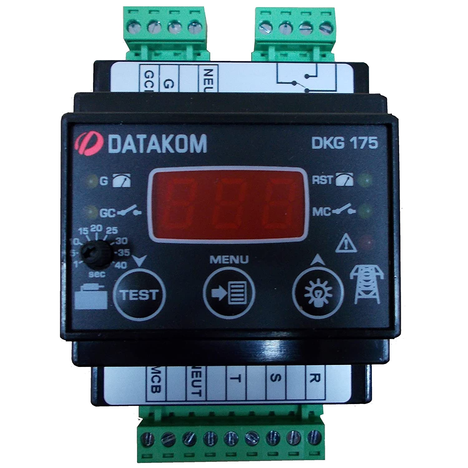 Datakom Dkg 175 Generator Mains Automatic Transfer Switch Controller Details About Ats Build Your Industrial Scientific