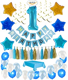 amazon com boys first birthday party supplies serves 24