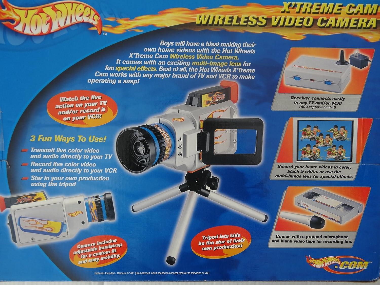 Amazon.com: Hot Wheels XTreme CAM Wireless Video Camera: Toys & Games