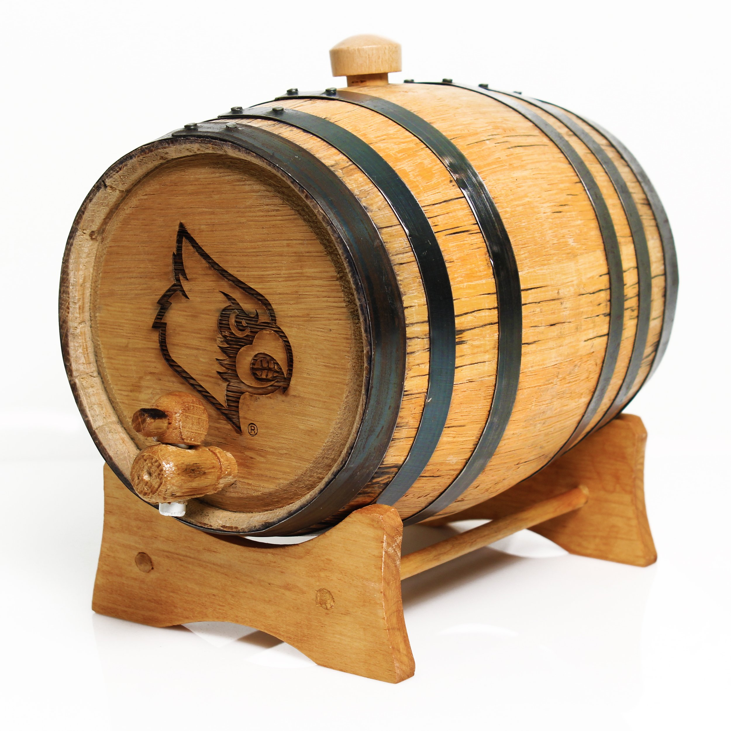 Cathy's Concepts University of Louisville Bluegrass Barrel, Large by Cathy's Concepts