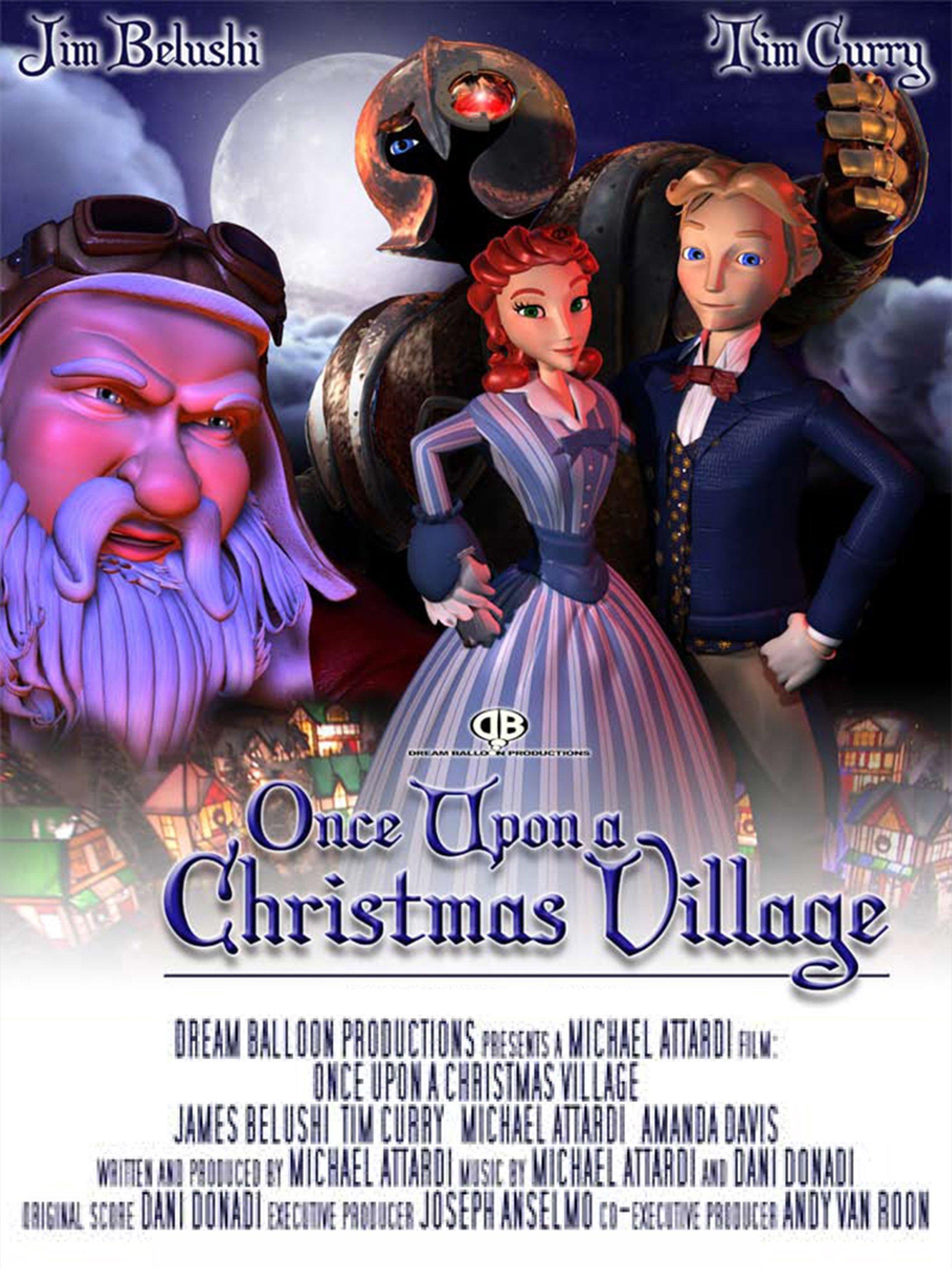 amazoncom once upon a christmas village amanda davis michael attardi jim belushi tim curry - Once Upon A Christmas Full Movie