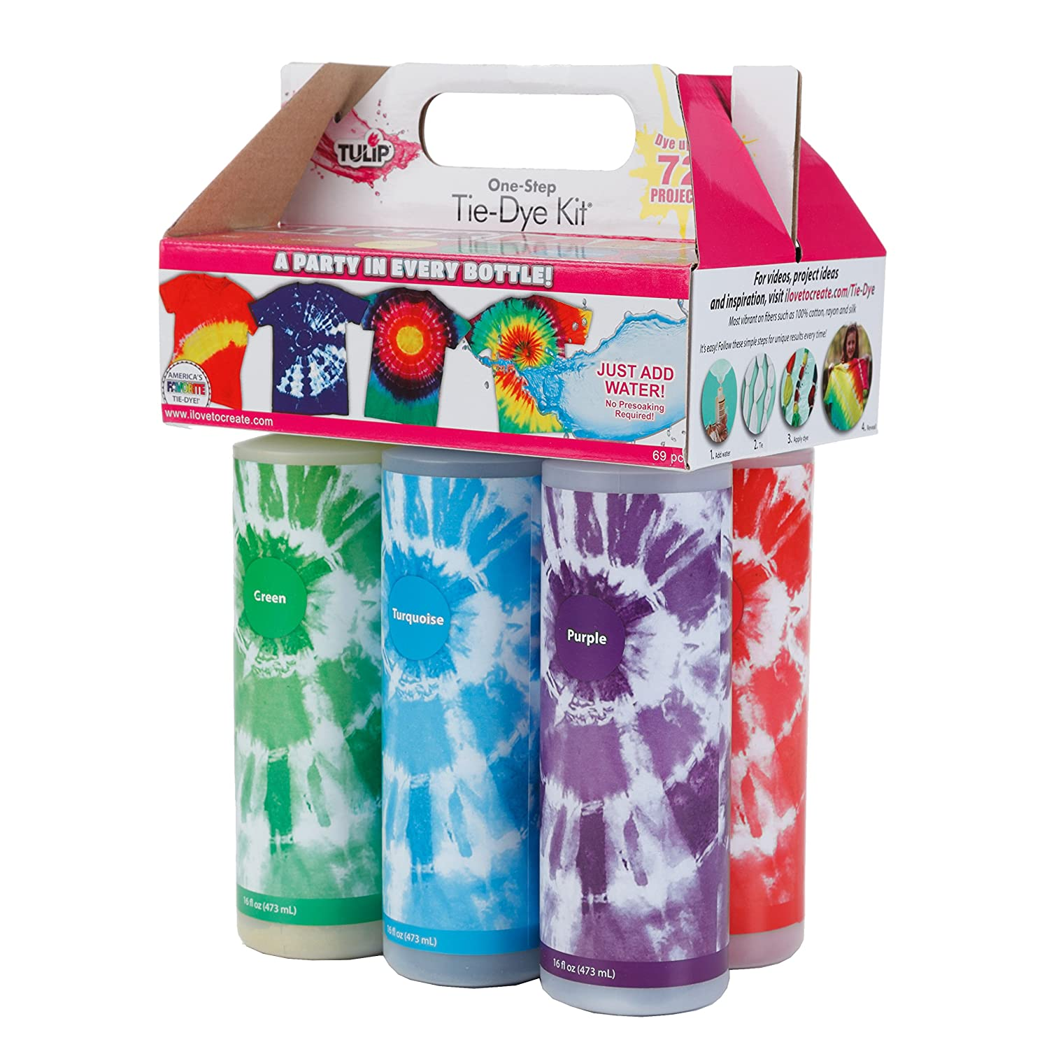 Tulip X-Large Block Party Tie Dye Kit 16oz
