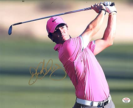 Rory Mcilroy Autographed Signed 2019 Players Championship Pin Flag Jsa Coa Autographs-original