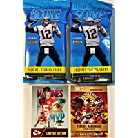 $54 » 2020 Score NFL Football Factory Sealed JUMBO FAT PACK with 40 Cards TWO PACKS - Plus TWO…