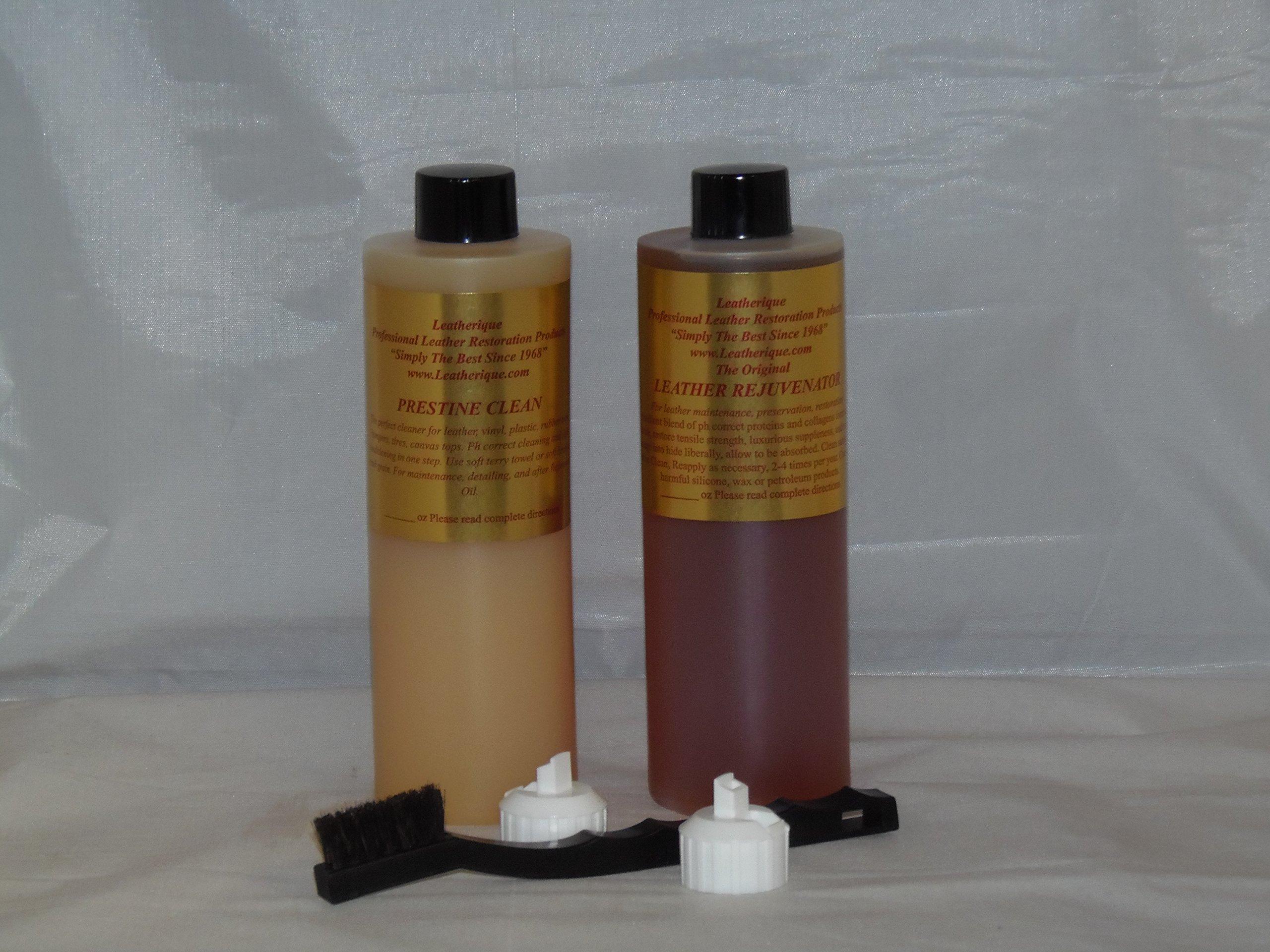 Leatherique Prestine Clean Rejuvenator kit 16oz.