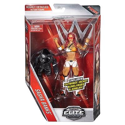 WWE Elite Sasha Banks Figure: Toys & Games