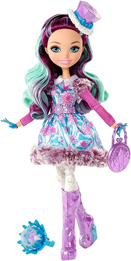amazon com ever after high epic winter madeline hatter doll toys