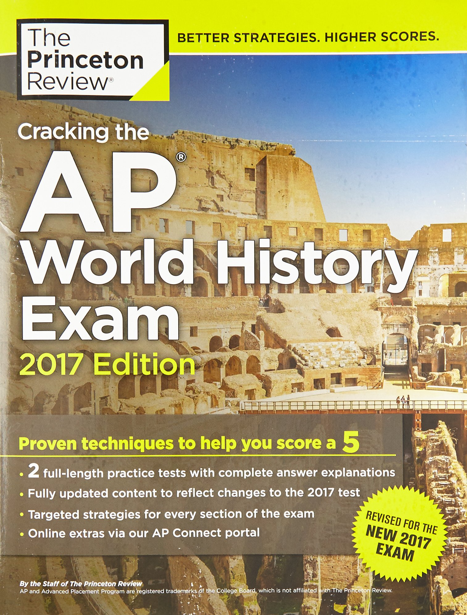 Buy Cracking the AP World History Exam (College Test