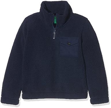 United Colors of Benetton Sweater L/s, Sudadera para Niños, Azul (Navy