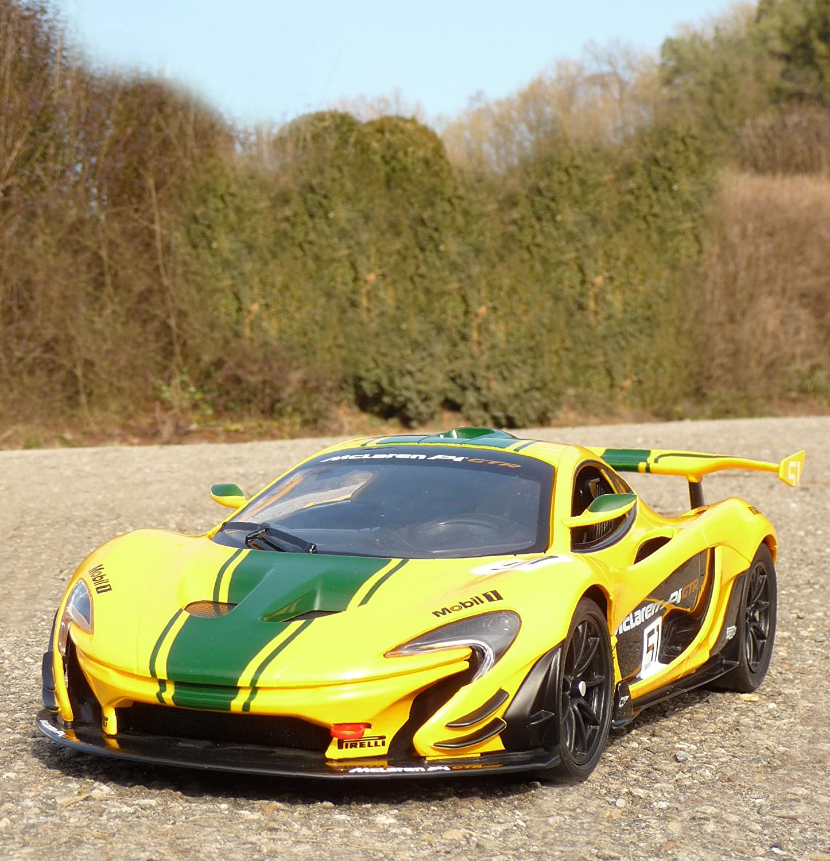 WIM-SHOP RC Modell McLaren P1 GTR RACING mit LICHT Länge 33cm Ferngesteuert 2,4GHz