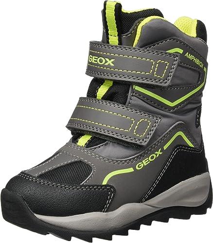 Geox Jungen J Orizont Boy ABX A Schneestiefel