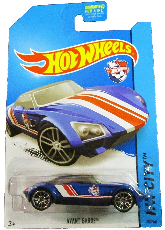 HW Goal blue Hot Wheels Avant Garde Mattel 2014 HW City 20//250